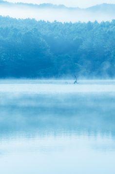 Lake Hijiri, Hiroshima, Japan by ABBKBB