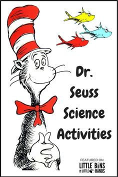 seuss science activities and stem projects for read across america one fish two fishred