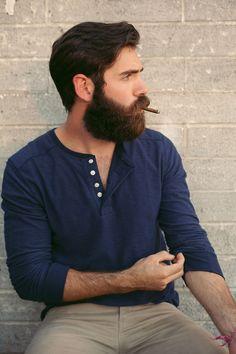 calebthal:  Seth at Lux. Caleb Thal Visual.  i've got a full blown case of beard envy.