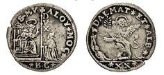 NumisBids: Numismatica Varesi s.a.s. Auction 67, Lot 466 : VENEZIA ALVISE II MOCENIGO (1700-1709) Quarto di Leone da 20...
