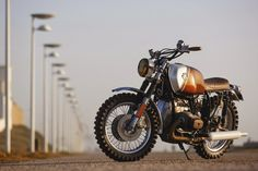 Rust and Glory: BMW R 45 Pure by Ton-Up Garage