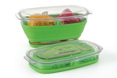 Avoid produce waste and multiple trips to the grocery store with this Prepworks Produce Keeper. Lunch To Go, Lunch Box, Space Saving Kitchen, Camping Needs, Salad Spinner, Food Storage Containers, Kitchen Essentials, Grocery Store, Mini