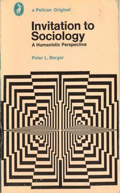 Invitation to Sociology, paperback book (1973) via newmanology.tumblr.com