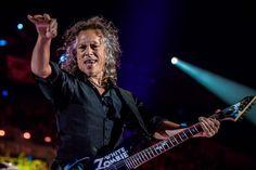 Kirk Hammett from Metallica - Royal Arena in Copenhagen 03.02.17. Photo by Lasse Lagoni