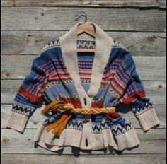 Navajo print sweater