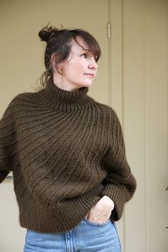 Stitch Patterns, Knitting Patterns, Spiral Pattern, Knitwear, Pure Products, Wool, Pickles, Sewing, My Style