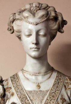 Image result for Antique plaster young french woman in prayer renaissance BUST