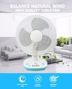 New fashion 16 inch small table fan with cool wind