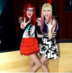 Roxy y Fausta en Violetta 3