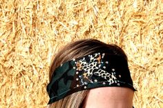 Cheetah Cross on Dark Camouflage Banndana Headband by RuralHaze, $11.99. Use Code: PINTEREST01 to receive 10% off any order!
