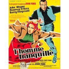 MAUREEN O'HARA - JOHN WAYNE - L'HOMME TRANQUILLE - (JOHN FORD 1952)