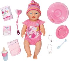 Zapf Creation Interaktive Babypuppe, »BABY born® Interactive Girl«