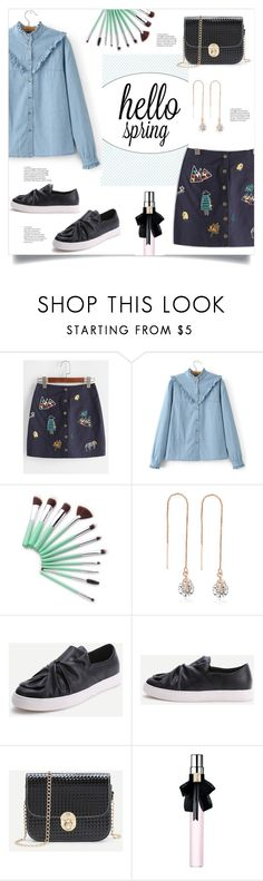 """Spring Look"" by mahafromkailash ❤ liked on Polyvore featuring Yves Saint Laurent"