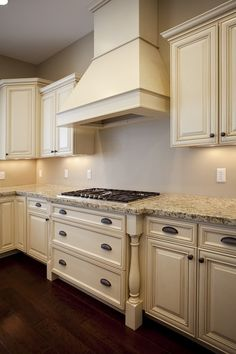 about cream cabinets on pinterest cabinets kitchens and granite