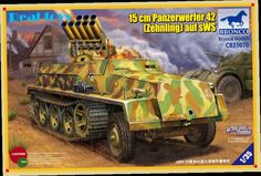 45.00$  Buy here - http://aliua5.worldwells.pw/go.php?t=2048827191 - Bronco model CB35070 1/35 German sWS Panzerwerfer 42 Rocket self-propelled artillery vehicles model kit 45.00$