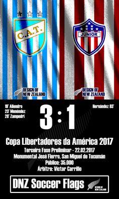 Atlético Tucumán 3 x 1 Junior Barranquilla