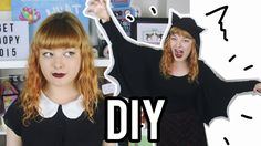 DIY Bat Wing Hooded Shirt | Make Thrift Buy #26 - Halloween Edition!