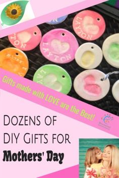 40 DIY Mother's Day Gifts that come straight from the heart! Kids will love to create their own Mother's Day present for mom #mosswoodconnections #crafts #parenting #mothersday #DIY #homemadegift Diy Mother's Day Presents, 40 Diy Gifts, Diy Gifts For Mothers, Diy Gifts For Kids, Mothers Day Presents, Mothers Day Crafts, Homemade Gifts, Mother Day Gifts, Diy For Kids