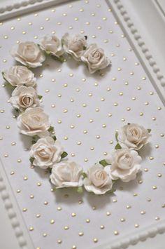 Rose personnalisée trame initiale personnalisable par shopbowholic