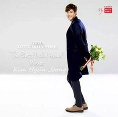 cool [News] Kim Hyun Joong , Lotte Duty Free 2014 Officially The Best Model Award's TOP WINNER
