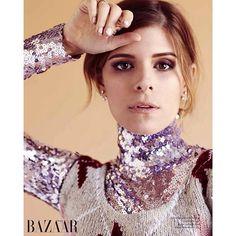 Kate Mara, Harper's Bazaar #johnrusso #johnrussophoto