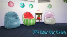 My Sims 4 Blog: TS3 Bean Bag Chair Conversion by D0rkySimmer