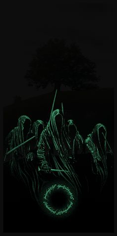 Cool Art: 'The Lord Of The Rings: The Fellowship Of The Ring' GID by Marko Manev
