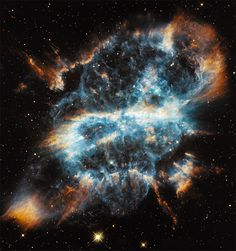 A Cosmic Holiday Ornament, Hubble Style