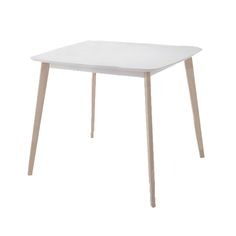 Wooden table Memory MDF top white wash 120x75x75 Wooden Tables, Top, Furniture, Collection, Home Decor, Wood Tables, Decoration Home, Room Decor, Home Furnishings