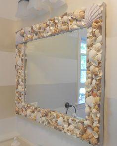 Shine Your Light: Shell Mirror