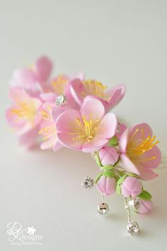 DK Designs: Cherry Blossom Hair Comb
