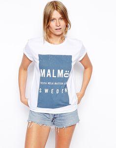 ASOS T-Shirt with Malmo Print