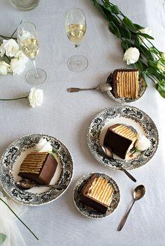 Tarta de Fondant Chocolate.