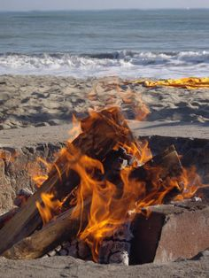 ✮ Fire at the Beach