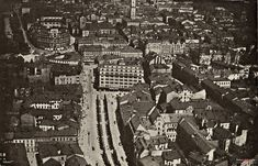 Zdjęcia lotnicze, Lwów - 1934 rok, stare zdjęcia