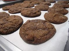 Farmgirl Gourmet: Delicious Recipes for the Home Cook.: Chewy Chocolate Gingerbread Cookies - Here's to you Martha!