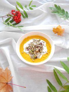 Delish carrot-coconut cream -soup