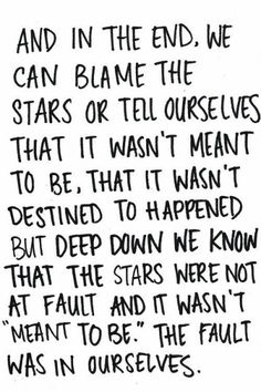 fault in our stars | Tumblr