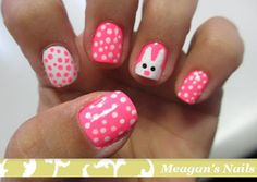 Easter nails. Cute!