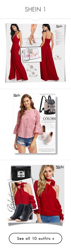 """SHEIN 1"" by melissa995 ❤ liked on Polyvore featuring Whiteley"