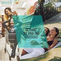 Ilumine as pessoas que estão perto de você! ☀️   #minhasalegriasparalelas #amar #sejogar #seapaixonar #serfeliz #behappy #paralelas #moodmoments #family #viver