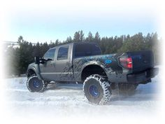 Ford Raptor Super Duty, Raptor SD built by Power Products Unlimited, Inc. Kits are available. Click on the pic.