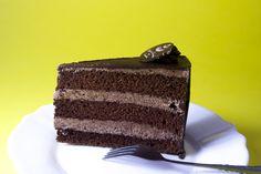Régimódi, kávéházi csokitorta: a titok a főzött krém Torte Cake, Nom Nom, Food And Drink, Cookies, Sweet, Food Cakes, Crack Crackers, Candy, Cookie Recipes