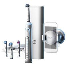 Oral-B Genius 9000S cepillo dientes eléctrico blanco por 128,82 €  El #Braun #Oral-B Genius 9000 se conecta a nuestro #smartphone gracias mediante la #aplicación de Oral-B para proporcionar consejos en tiempo real mientras te #cepillas, almacenar tus datos de cepillado y ayudar a crear #rutinas de cepillado personalizadas.   #belleza #chollos #ofertas #salud