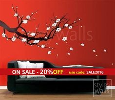 cherry blossom wall decal - Google Search