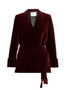 Orion cotton-blend velvet jacket   Racil   MATCHESFASHION.COM
