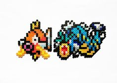 Pokemon Perler  Magikarp / Gyarados / o un por ShowMeYourBits, $2.00