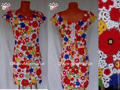 """Купить Платье""""Юлия"""",авторская работа - разноцветный, платье, ирландское кружево, хлопок, авторская ручная работа"""
