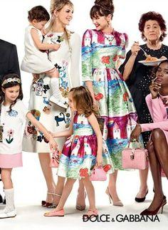 Dolce & Gabbana Fall/Winter 2015 Campaign
