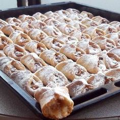 Greek Sweets, Greek Desserts, Greek Recipes, Desert Recipes, Cake Mix Cookie Recipes, Chocolate Sweets, Creative Food, Cookies Et Biscuits, Delicious Desserts